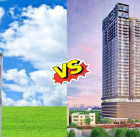 land or apartment