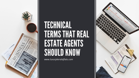Technical terms that real estate agents should know