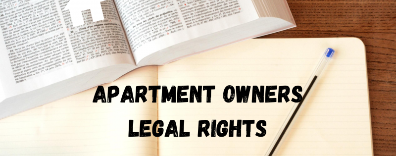 Apartment Owners Legal Rights